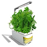 Smart idroponici Herb Garden Lights, Suitable for All Plants, Kit Mini Growing Plant LED Light, AS Desk Lamp for your Reading Fairy Lights (Seeds Not Included) (Yellow) immagine