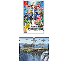 Super Smash Bros - Ultimate (Nintendo Switch) + Super Smash Bros. Steelbook (Limited Edition)