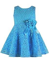 Vestido de niña, RETUROM Vestido de una pieza princesa Party Dress de las muchachas encantadoras