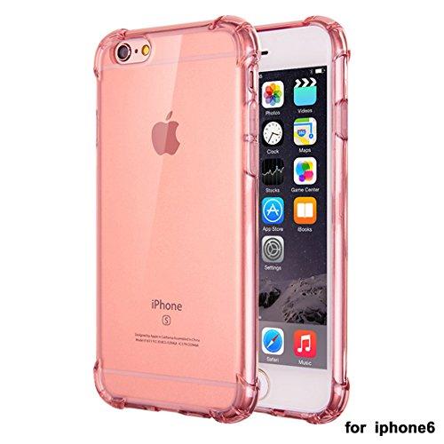 """xhorizon Transparente Handyhülle für iPhone 6 / iPhone 6S (4.7"""") mit Hartplastik und weicher TPU Gel zum Schutz vor Stößen #5"""