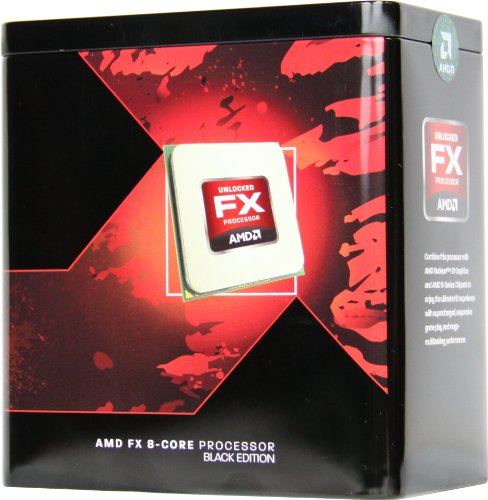 AMD FX -8300 - Procesador (AMD FX, 3,3 GHz, Socket AM3+, PC, 32 NM, FX-8300)