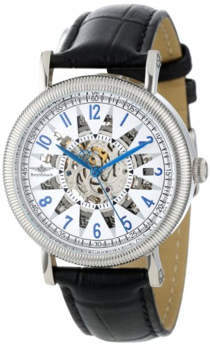 ad9636ee1 Breytenbach Women's Automatic Watch with White Dial Analogue Display and  Black Leather Strap BB1390SI