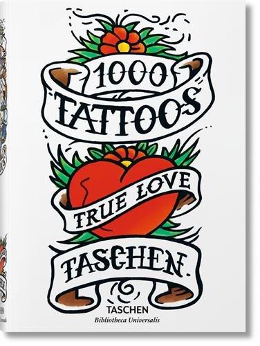 1000 Tatuajes HC (Bibliotheca Universalis) por Burkhard Riemschneider