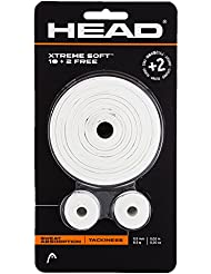 Head Blister Xtreme Soft 10 + 2 - Overgrip, color blanco