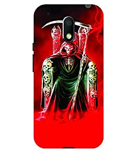 Voodoo Printed Back Cover For Yu Yunicorn