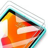 ESR Pellicola Protettiva per iPad 10.2 2019, [2 Pezzi][Cornice di allineamento] Pellicola salvaschermo in Vetro temperato [Anti-Graffo/Olio/Impronta] per iPad 7 10.2/iPad PRO 10.5/ iPad Air 2019