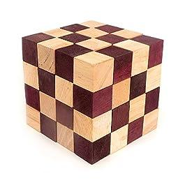 Logica Giochi art. ANACONDA – Rompicapo in legno – Difficoltà 5/5 INCREDIBILE