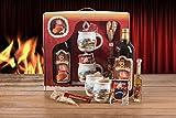 Feuerzangentasse Geschenkset, Feuerzangenbowle, Glühwein (Weihnachten)
