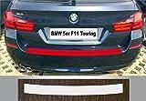 passgenau für BMW 5er F11 Touring, ab 2010, Lackschutzfolie Ladekantenschutz transparent
