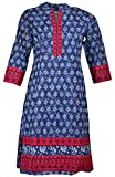 Odhani Women's Cotton Straight Kurta (SW...