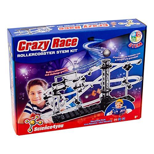 Science4you-Crazy Race Stem Kit-Juguete Educativo y Científico, 61273