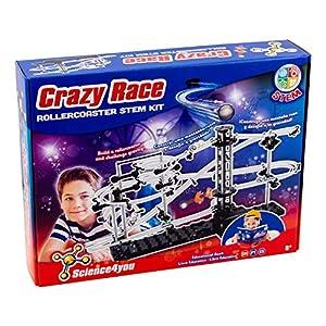 Science4you Science4you-Science4you Circuito de Canicas Crazy Race Stem Kit Juguete Educativo Niños +8 Años (612730)