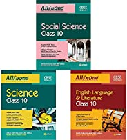 CBSE All In One Social Science / Science / English language & Literature Class 10 (Set of 3 books)(New Edi