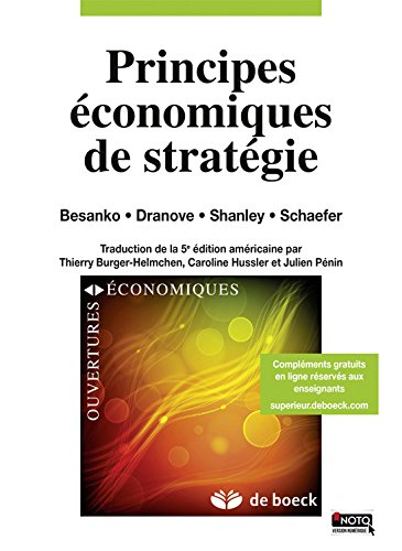 Principes Economiques de Strategie