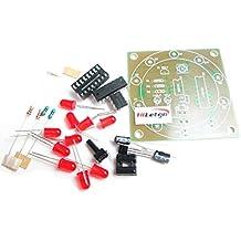 hiletgo électronique Fortune Kit de roue roue de production électronique Lucky DIY Kit