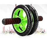 LMZZGAOYANQING Bauch Roller Rad macht Rad Ab Roller Fitness Fitnessgeräte für Muskelaufbau zurück & Arme Übung