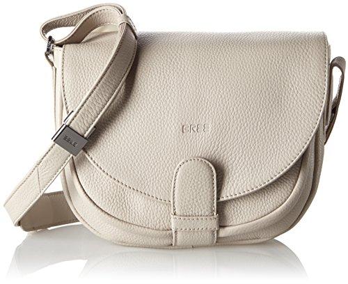 BREE  Lady Top 2 S17, sac bandoulière femme - gris - Grau (cotton), taille unique