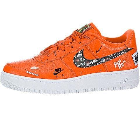 Nike Herren Air Force 1 JDI PRM (gs) Sneakers Mehrfarbig Total Orange/White/Black 001, 40 EU
