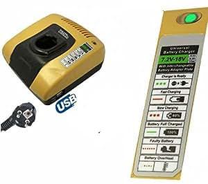 Chargeur de Batterie Outillage Portatif E-force® pour MAKITA DC18RA/3A - Port 0 Euro. Chargeur de batterie, nouvelle génération