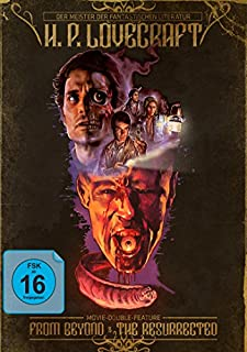 H.P. Lovecraft Movie Double Feature - From Beyond & The Resurrected - Mediabook [Blu-ray]