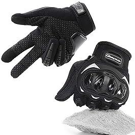 COFIT Guanti da Moto, Touchscreen sulle Dita, Guanti per corse in Motocicletta, per ATV BMX MTB Bicicletta, Arrampicata…