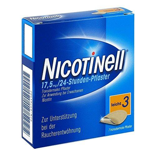 NICOTINELL 17,5 mg 24 Stunde 7 St Pflaster transdermal