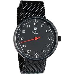 MAST MILANO BK201BK01-SS-UNO - Reloj de Hombre monoaguja Ultra Slim