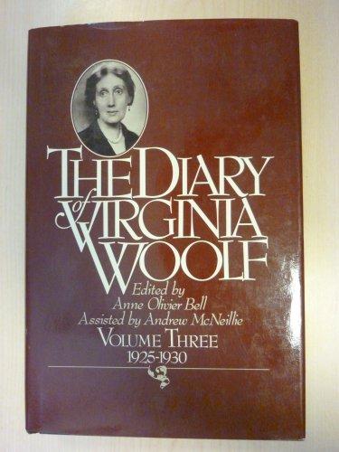 Diary of Virginia Woolf Volume 3 1925 1930