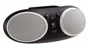 Logitech S125i Tragbarer Lautsprecher für iPhone und iPod schwarz/grau
