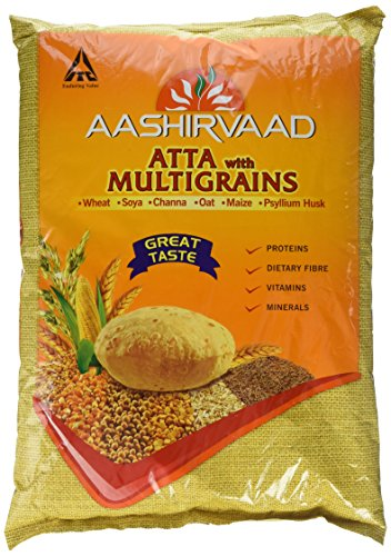Aashirvaad Atta Multigrains, 5 kg