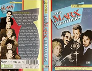 Inside the Marx Brothers [VHS]