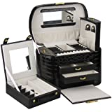 Rowling Faux Leather Jewellery/Watch box Jewelry Storage Display Case ZG152