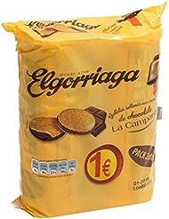 Elgorriaga Galletas Rellenas Con Crema Sabor Chocolate - Pack de 2 x 180 g - Total: 360 g