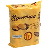 Elgorriaga Galletas Rellenas Con Crema Sabor Chocolate - Pack de 2 x 180 g - Total: 360 g