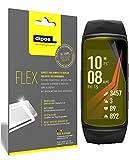 dipos I 3X Schutzfolie 100% passend für Samsung Gear Fit 2 Pro Folie (Vollständige Displayabdeckung) Displayschutzfolie