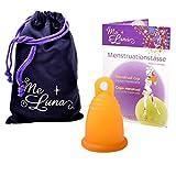 Me Luna Coupe menstruelle Classic, bague, Orange, Taille L