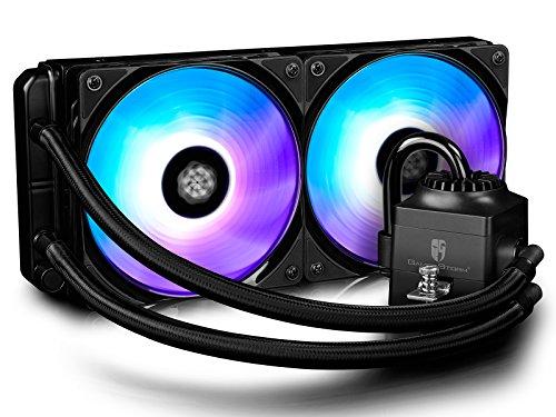 DEEPCOOL CAPTAIN RGB-FAN 240 RGB All-In-One Wasserkühlung AIO Flüssigkeitskühlung 240mm Wasserkühler