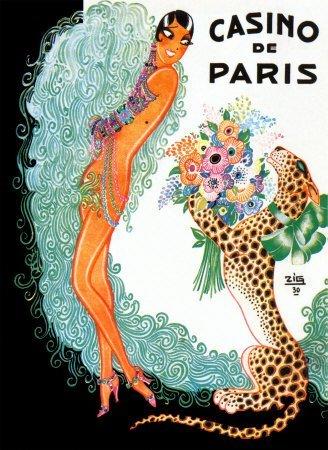 josephine-baker-casino-de-paris-art-poster-print-by-zig-louis-gaudin-16x23-by-allpostersuk