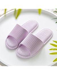 BAOZIV587 - Zapatillas de baño para exteriores (antideslizantes, modelos femeninos, parejas, hombre
