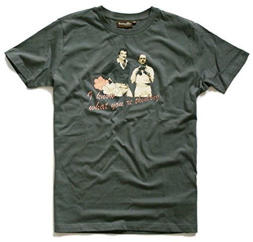 Baretta T-Shirt Higgins, Grey 80er TV Serie Hawaii, Ferrari, Island Hopper, Privatdetektiv, S