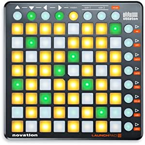 novation launchpad s contr leur de 2 me g n ration 64 pads noir instruments de musique. Black Bedroom Furniture Sets. Home Design Ideas
