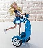 Programmier-Roboter für Mädchen, ideal für Altersgruppen von 6bis 12, programmierbarer Puppen-Scooter mit Modepuppe, aktualisierte App auf iPad, Tablet, Smartphone.