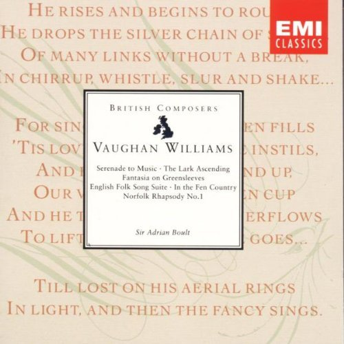 Vaughan Williams: Orchestral Works (1993-08-02)