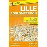 Lille agglomération - Atlas de poche (plan de Lille et de 27 communes - avec index)