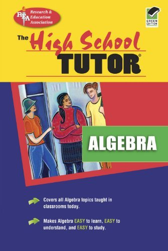 Algebra Tutor (High School) by Research (1993-04-01) par Research;Education Association Staff