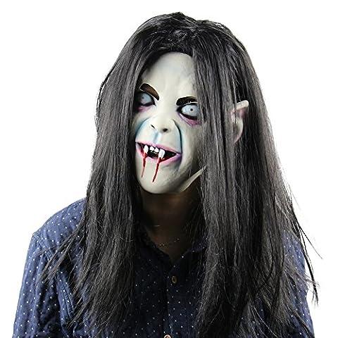 kaersishop die Maske für Allerheiligen(fest),Schrecklich Latexgummi-Requisiten,Umweltschutz (Yeti-kostüm Kinder)