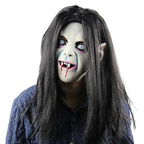 kaersishop die Maske für Allerheiligen(fest),Schrecklich (50 Cent En Kostüm)