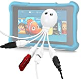 "DURAGADGET 'The Handy Octopus' 4 Ports High Performance USB 2.0 Hub Splitter, With Plug And Plug For Amazon Fire HD Kids Edition kindle 6"" & Amazon Fire HD Kids Edition kindle 7"""