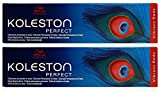 Wella 2 er Pack Wella Koleston Perfect 60ml 7/4 Mittelblond Kupfer (Vibrant Reds)