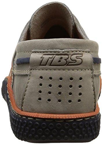 TBS Globek, Chaussures Bateau Hommes, Rouge (Rouge/Encre), 39 EU Gris (Gris Encre)